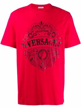 Versace Collection - футболка с логотипом 6683RVJ6669695693383