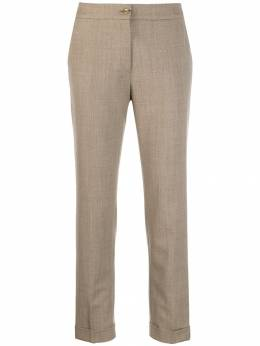 Etro - cropped slim-fit trousers 53633595985563000000