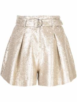 Jonathan Simkhai - sequin pleated shorts 5693S950936990000000