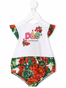 Dolce&Gabbana Kids - боди Love Is Love ON3G3TRM959969880000