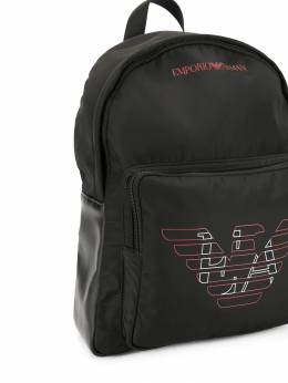 Emporio Armani Kids - logo patch backpack 5909A533950355390000