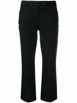 Theory - double-stretch cropped trousers 65090950536690000000