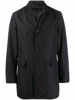 Canali - zip-up single-breasted coat 9565O960399505555600