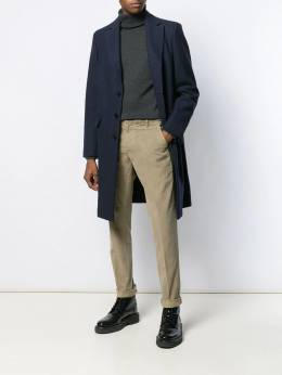 Dondup - single-breasted fitted coat 55PX6638XXX950598830