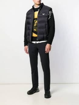 Prada - feather down quilted gilet 995S990Q659503639800