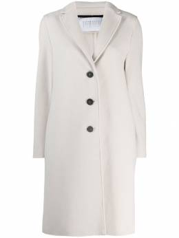 Harris Wharf London - single-breasted fitted coat 39MHP950309560000000