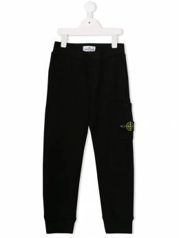 Stone Island Junior - logo patch track pants 66685695068999000000