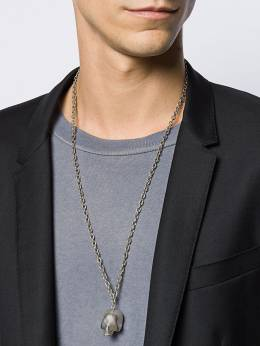 UNDERCOVER - skull pendant necklace 5N609505503500000000