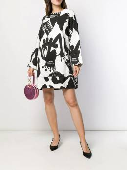 Boutique Moschino - printed shift dress 53695695038858000000