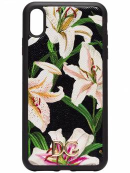 Dolce & Gabbana - floral print iPhone XS Max case 595AA069938906950000