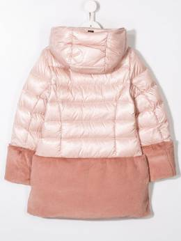 Herno Kids - faux fur lined padded coat 635G9069395033608000