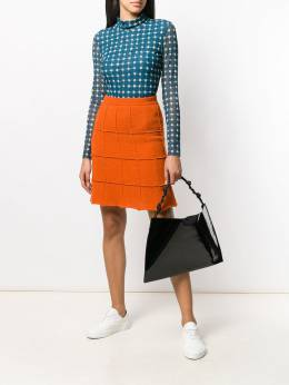 Steffen Schraut - rectangular patterned skirt 65539950369680000000