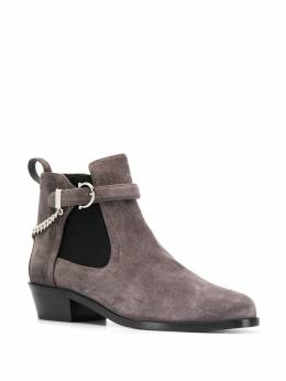 Salvatore Ferragamo - ankle boots with buckle detail 38395083566000000000