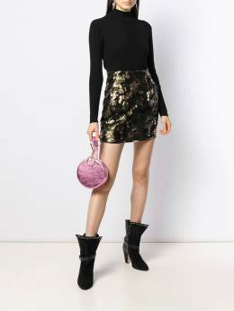 Iro - contrast sequin mini-skirt AL689950363690000000