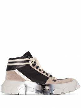 Rick Owens - Tractor high-top sneakers 9F589395953669000000