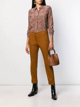 Etro - cropped tapered trousers 53659595056090000000