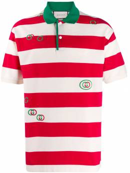 Gucci - striped polo shirt 936XJA6H950506950000