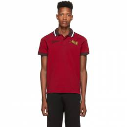 Kenzo Red Jumping Tiger Polo 192387M21200605GB