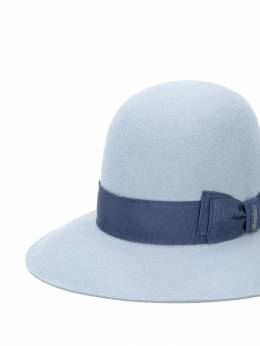 Borsalino - bow-trim hat 99395058663000000000