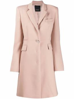 Pinko - fitted single-breasted coat 5H93650Q969505539000
