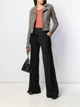 Rick Owens - high-waisted flared trousers 9F5369WT959836560000