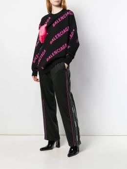 Balenciaga - striped side track pants 836TEV05956396960000