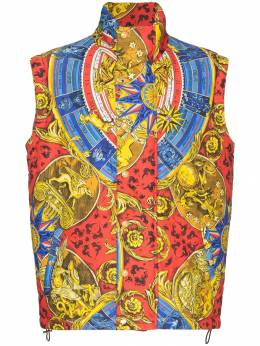 Moschino - printed padded gilet 69505695635663000000
