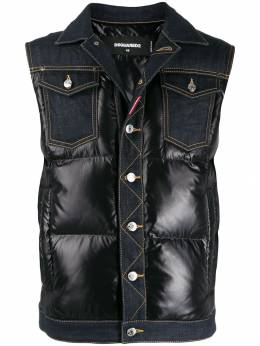 Dsquared2 - quilted denim gilet FB6090STN88995036366