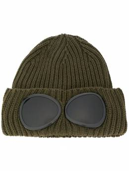 CP Company - ribbed beanie with smoked lenses 093A665569A950539690