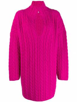 Balenciaga - oversized cable-knit jumper 966T9535956395830000