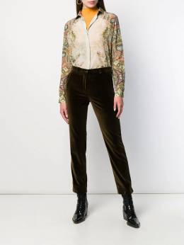 Etro - slim velvet trousers 53939950503900000000
