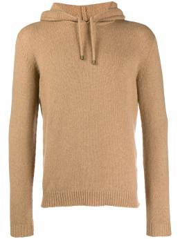 Roberto Collina - soft knitted hoodie 86639505569500000000