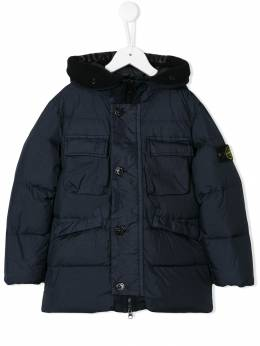 Stone Island Junior - oversized padded coat 99656033950639590000