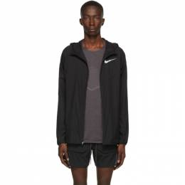 Nike Black Windrunner Jacket 192011M18001005GB