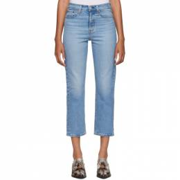 Levi's Blue Wedgie Straight Jeans 192099F06902607GB