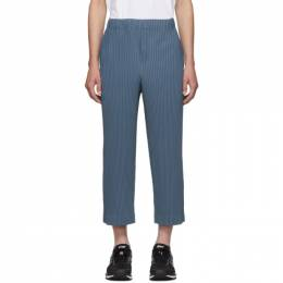 Homme Plisse Issey Miyake Blue MC July Trousers 192729M19102803GB