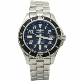 Breitling Black Dial Stainless Steel Superocean Automatic Men'S Watch 42MM 211667
