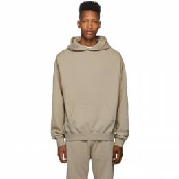 Essentials Taupe Pull-Over Hoodie 192161M20200405GB