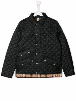 Burberry Kids - стеганая куртка 98539593896500000000