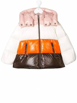Moncler Kids - colour-block padded jacket 35856895695059396000