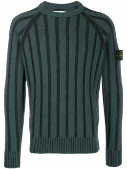 Stone Island - knitted logo sweater 995563A5950866960000