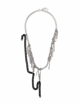 Mm6 Maison Margiela - knotted chain necklace UU6699S9988895059865