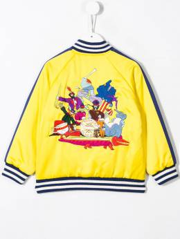 Stella McCartney Kids - куртка-бомбер Beatles 566SNK90933935360000