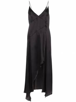 Le Kasha - Niya asymmetric slip dress A9563093300000000000