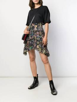 Iro - Rock print high-waisted skirt 96WP39PAMPALA9503638