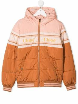 Chloé Kids - TEEN padded jacket 35503395035853000000