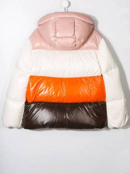 Moncler Kids - TEEN colour-block padded jacket 35856895695059393000