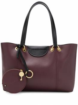 See By Chloé - embossed logo tote ASA06593950895690000