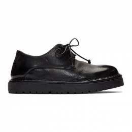 Marsell Black Gomme Pallottola Derby Oxfords 192349F12000601GB