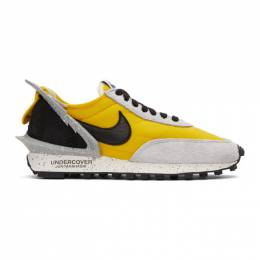 Nike Yellow and Grey Undercover Edition Daybreak Sneakers 192011F12815306GB